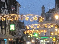 Illuminations de Noël a Bourges
